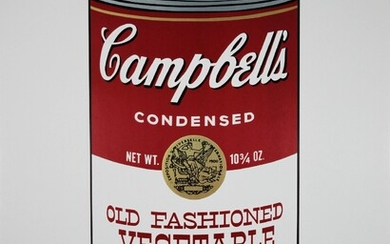 Vier Poster, Andy Warhol, Campbells Soup, Coldwater Press Ltd., 1995