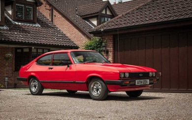 1979 Ford Capri 2.0 GL A Low Mileage and Ownership Example