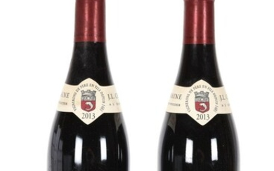 2 B L'HERMITAGE Rouge (e.a.) Jean-Louis Chave...