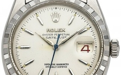 """54166: Rolex, Steel Oyster Perpetual Datejust, """"Roulett"""