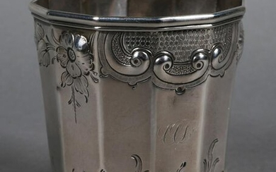 Antique Southern Silver Cup Hayden & Whilden
