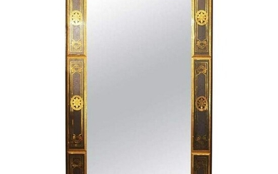 Bruber Etched & Gilded Venetian Mirror