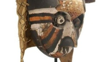 CENTRAL AFRICAN KUBA PEOPLES PWOOM ITOK MASK