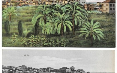 Collection of 10 Postcards of Jaffa, Palestine