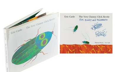Eric Carle Signed Book with Sketch