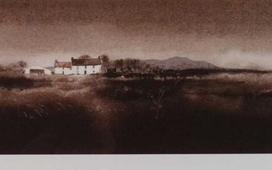 John Knapp-Fisher (British 1931-2015), House on the Common limited edition print