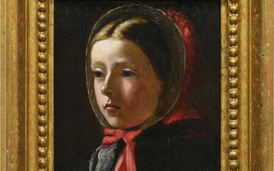 Painting, Portrait of a Young Girl