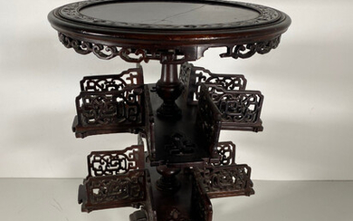 Side table / drink table, China in the style of the turn of the century.