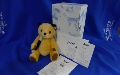 Steiff; 'Sooty', 663932, from 'The Sooty Show', yellow, 30cm...