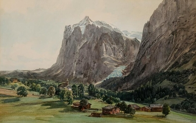 Thomas Ender, View from South Tyrol