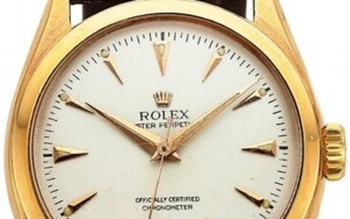 54167: Rolex, 18k Pink Gold Oyster Perpetual, Ref. 6084