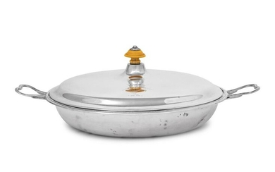 A George III Silver Covered Dish