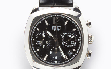 A stainless steel wristwatch, Monza Re-Edition, Tag Heuer