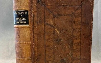 BEAUMONT (John) An Historical, Physiological and Theological Treatise of Spirits, Apparitions