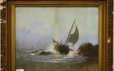 CLARENCE BRALEY (1854-1927, NEW BEDFORD) FRAME