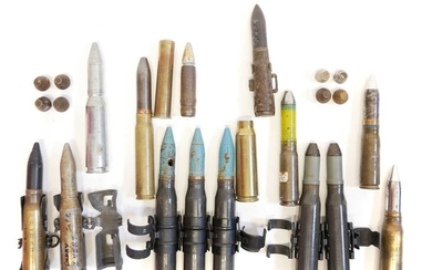 Collection of 20mm rounds