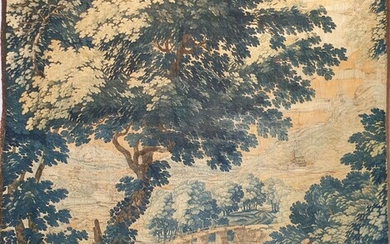 FLANDERS - TAPESTRIES with landscape decoration. H 248 x W...