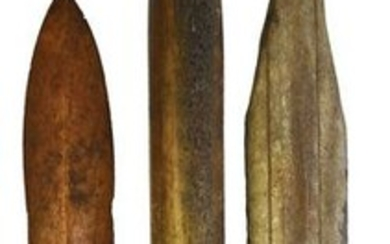 """Group of 3 Inuit Tools: 11"""" Ice Tester), two Daggers"""