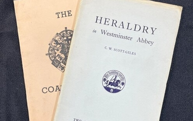 Pair of First Ed. Book / Booklets on Heraldry