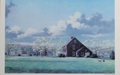 Ralph Carpentier, Mulford Farm, East Hampton, Poster on