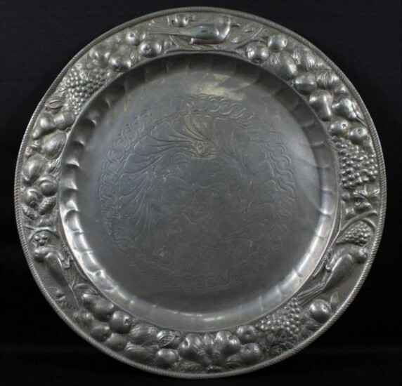 Silver Plated Inlad Plate