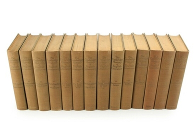 """""""The Cambridge History of English Literature"""" Edited by Ward and Waller, 1907–27"""