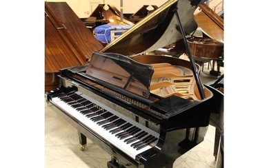 Yamaha (c1998) A 5ft 3in Model GH1 grand piano in a bright e...
