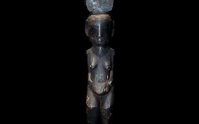 19th Century Published Ifugao Tribal Authentic Standing