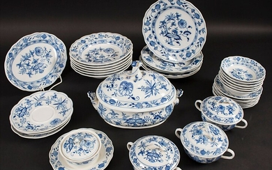 32 Teile Service Zwiebelmuster / 32 pieces of a dining...