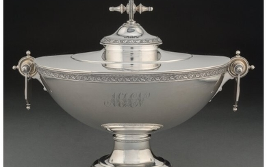 74068: An American Silver Covered Tureen Attributed to