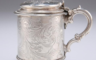 A VICTORIAN SILVER MUSTARD POT, by George