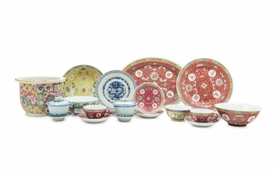 A Large Collection of Chinese Porcelain Articles