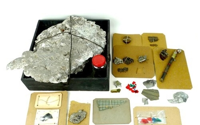 A collection of aircraft relics, including those related to ...