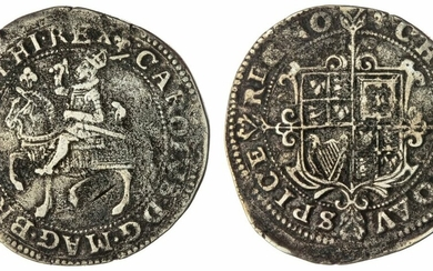 Charles I (1625-1649), Group I, Halfcrown, 1625, Type 1a², Tower (under King)