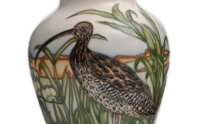 Kerry Goodwin - Moorcroft Pottery - A Trial vase decorated i...