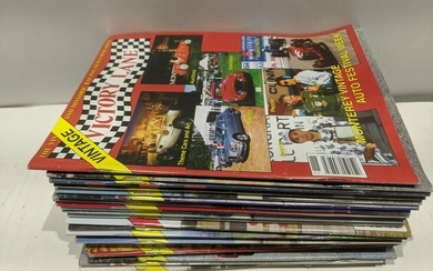 Lot 25 Victory Lane Vintage Racing Magazines