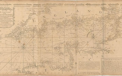 MAP, English Channel, Mount & Page