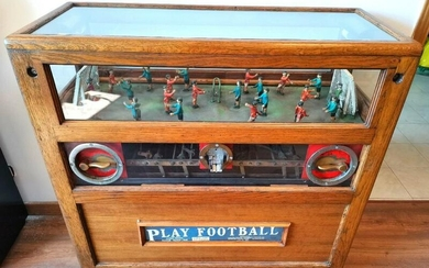 Mechanical Toy Football Game from the 30's