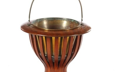 (-), Nut slatted tea stove with defective copper...