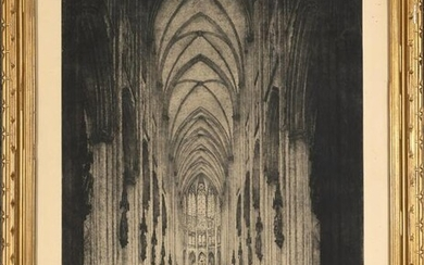 Unknown, Gothic Cathedral Interior