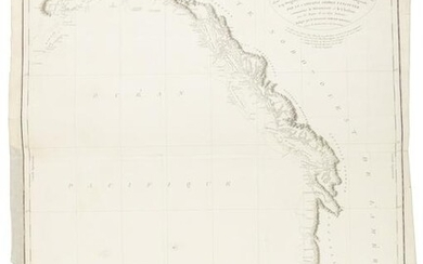 Vancouver Chart of west coast of North America