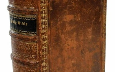 1625 Leatherbound King James Bible