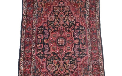 3'7 x 5'2 Hand-Knotted Northwest Persian Fereghan Area Rug