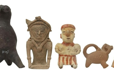 (5) PRE-COLUMBIAN STYLE POTTERY