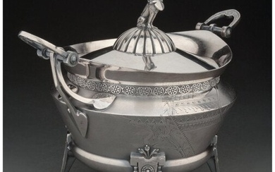 74069: A Reed & Barton Silver-Plated Covered Tureen, Ta