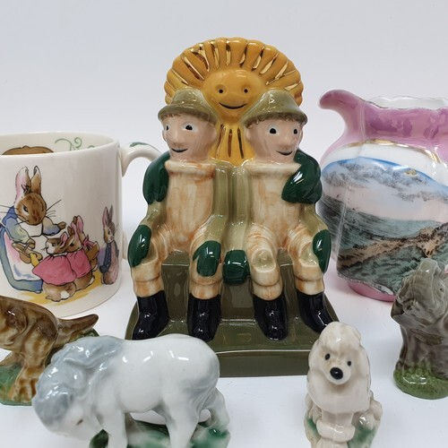 A Wade group, Bill & Ben, various Wade Whimsies and other ce...