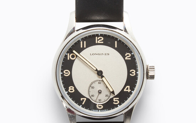 A stainless steel wristwatch, Heritage Classic, Longines
