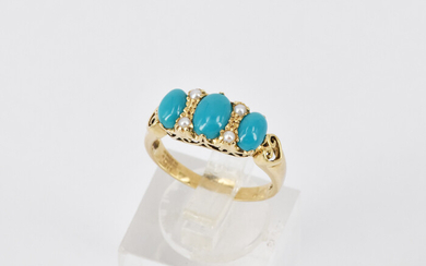 AN ANTIQUE STYLE RING