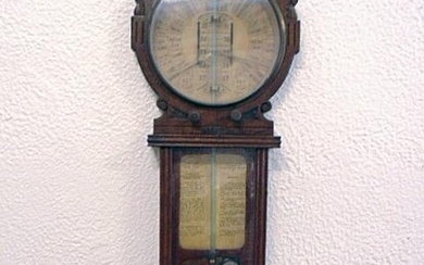 Barometer, Mercurial, Drained, Admiral Fitzroy /