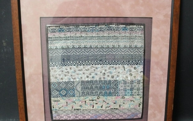 Chinese Embroidery Framed